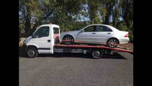 car towing in wirral image