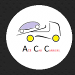 Logo for ace car carriers